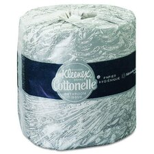 <strong>Kimberly-Clark</strong> Kleenex Cottonelle Standard Bath Tissues in White