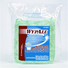 <strong>Kimberly-Clark</strong> Wypall Waterless Hand Cloth Wipes Refill Bags in Green