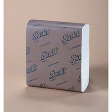Scott 1/8-Fold Dinner Napkins in White
