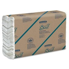 Scott C-Fold Paper Towels - 200 Towels per Pack