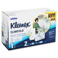 Kleenex Slimfold Starter Kit