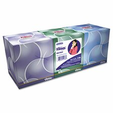 <strong>Kimberly-Clark</strong> Professional* Kleenex Boutique Anti-Viral Tissue, 3-Ply, Pop-Up Box, 68/Box, 3 Boxes/Pack