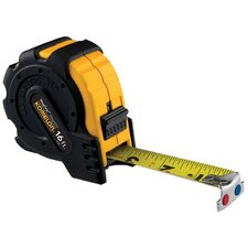 "MagGrip™ Tapes - 1""x16' steel tape measure mag grip rubber jacket"