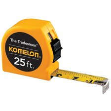 "<strong>Komelon USA</strong> Tradesman Measuring Tapes - 1""x25' yellow tradesmanmeasuring tape"