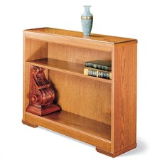 "Traditonal Series 30"" H Two Shelf Open Bookcase"