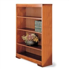 "Traditonal Series 48"" H Three Shelf Open Bookcase"
