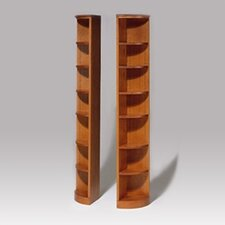 "<strong>Hale Bookcases</strong> 200 Signature Series Quarter Round 84"" Bookcase"