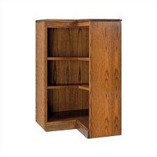 "200 Signature Series 36"" H Three Shelf Inside Corner Bookcase"