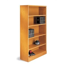 "500 LTD Series 72"" H Six Shelf Open Bookcase"