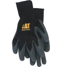 Large Cotton Latex Coated Palm Gloves CAT017400L