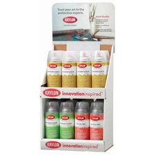 Gallery Series Countertop Conservation Varnish and Quick Dry Display Assortment (Set of 16)