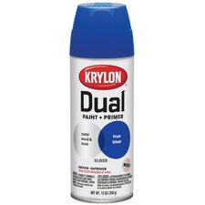 <strong>Krylon</strong> True Blue Dual Paint and Primer Spray Paint Gloss