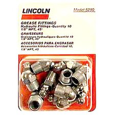 "0.12"" 45° Grease Gun Fitting (Set of 10)"