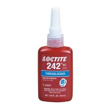 242® Threadlocker, Medium Strength - 0.5ml threadlocker 242 removable strength