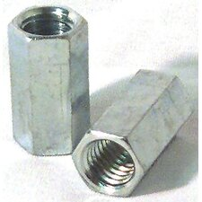 "1/2"" Right Hand Threaded Rod Coupler Nuts 11847"