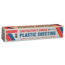 8' X 100' 4 ML Polyethylene Clear Plastic Sheeting CF0408C