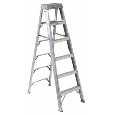 AS1000 Series Master Aluminum Step Ladders - 6' aluminum step ladder