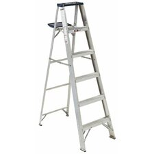 AS4000 Series Victor Aluminum Step Ladders - 4' aluminum step laddergp medium duty
