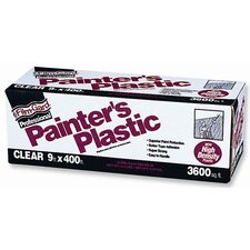 9' X 400' Film-Gard® Clear Professional Painter's Plastic 03509H