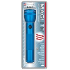<strong>MAG-Lite</strong> 2-Cell D White Star Krypton Flashlight (Blue)