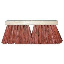"""Palmyra Stalk Street Brooms - 16"""" street broom req.5t-hdl 2f02b1d or c60 340d (Set of 6)"""