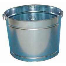 Metal Paint Pails - 5qt galvanized metal pail (Set of 12)