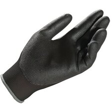 Ultrane™ 548 Gloves - 548-10 lt. duty  black palm coated polyurethane