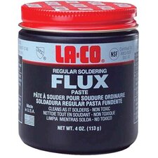 Regular Flux Paste - 2 oz. regular flux pastesolder