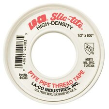 "Slic-Tite® PTFE Thread Tapes - 1/2""x600' slic-tite 44101 thread tape PTFE hea"