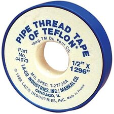 "PTFE Pipe Thread Tapes - ma 1/2x260 pipe tape ""ld"""