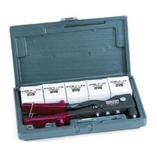 Rivet Tool 200 Kit® - 200 kit w/hp-2 & assorted klik-fast rivets w/ca
