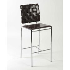 Carlsen Counter Chair in Brown
