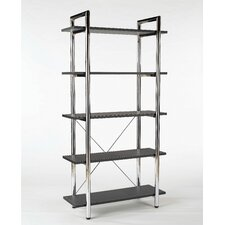 Ledah Leather 5-Shelf Unit