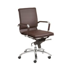 Gunar Pro Low Back Leatherette Office Chair