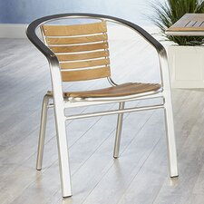 Shirley Stacking Dining Arm Chair