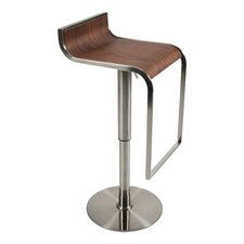 Forest Adjustable Height Swivel Bar Stool