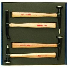 Wood Handle Body Hammer 4Pc Set