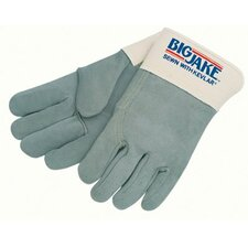 Heavy-Duty Side Split Gloves - big jake full leather back extra large