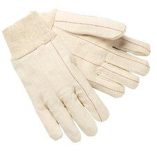 Double Palm and Hot Mill Gloves - 100 percent cotton double palm nap-in