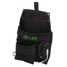 Revolution™ Harness Accessories - large multi pouch tool bag w/2 steel hammer loop