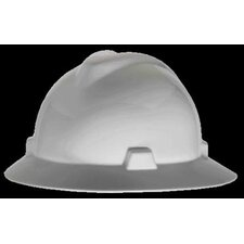 V-Gard® Class E, G Type I Polyethylene Non-Slotted Hard Hat With Fas-Trac® Suspension