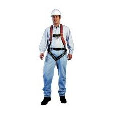 Harness Vestype™ w/Tongue Leg Buckles & 1-Back & 2-Hip D-Rings