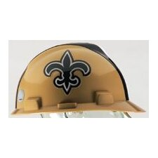 V-Gard® Type I Hard Cap With 1-Touch™ Suspension, New Orleans Saints Logo And Adjustable Strap