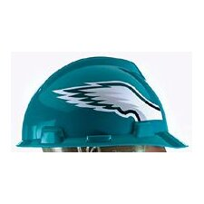 V-Gard® Type I Hard Cap With 1-Touch™ Suspension, Philadelphia Eagles Logo And Adjustable Strap