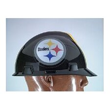 V-Gard® Type I Hard Cap With 1-Touch™ Suspension, Pittsburgh Steelers Logo And Adjustable Strap