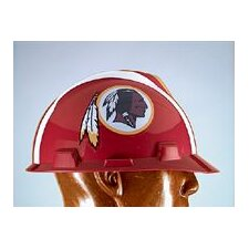 V-Gard® Type I Hard Cap With 1-Touch™ Suspension, Washington Redskins Logo And Adjustable Strap