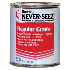 Regular Grade Compounds - 8oz brush top can anti-seize pressure lu