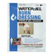 "North Safety - Water Jel Burn Products Water-Jel Dressing2"" X 6"": 068-049078 - water-jel dressing2"" x 6"""