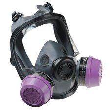 5400 Series Low Maintenance Full Facepiece Respirators - low maintenance med/large full face respirator