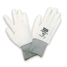 7 Light Task Polyurethane Coated Work Gloves With Nylon Liner